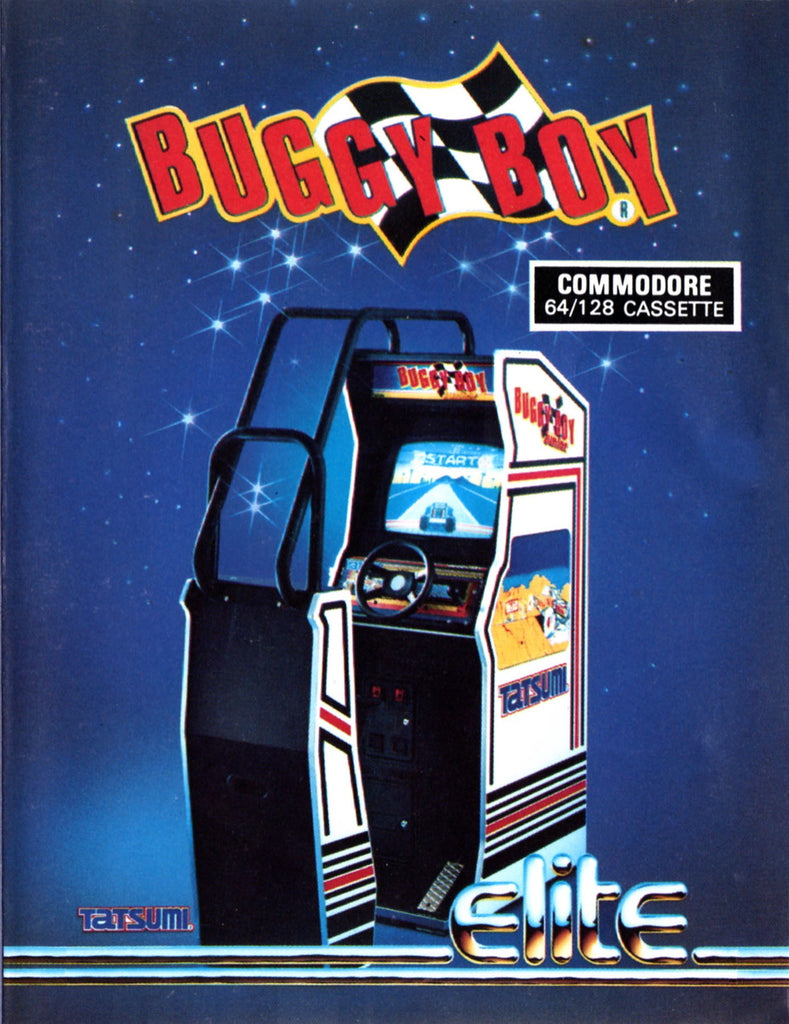 Buggy Boy - Commodore 64 | Retro1UP Game