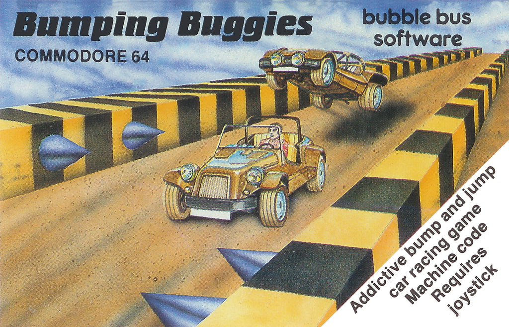 Bumping Buggies - Commodore 64 | Retro1UP Game