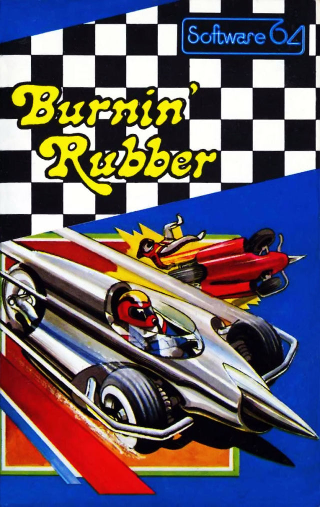 Burnin' Rubber - Commodore 64 | Retro1UP Game