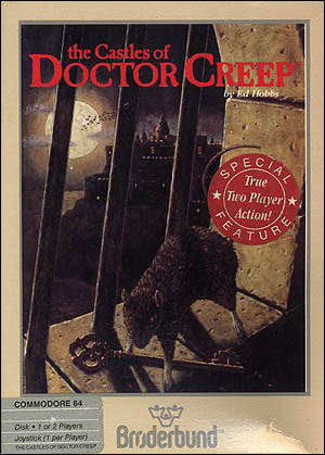 The Castles of Doctor Creep - Commodore 64 | Retro1UP Game