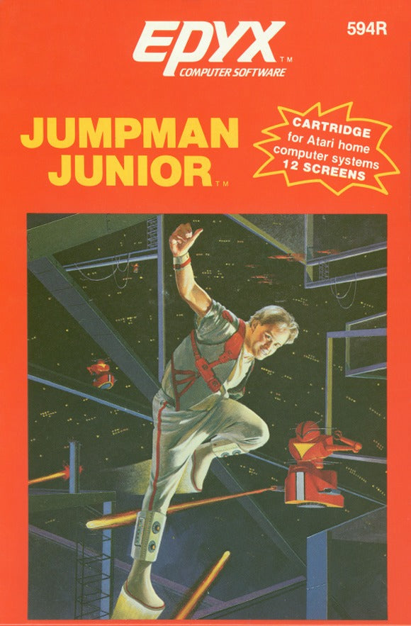 Jumpman Junior - Atari 8-bit | Retro1UP Game