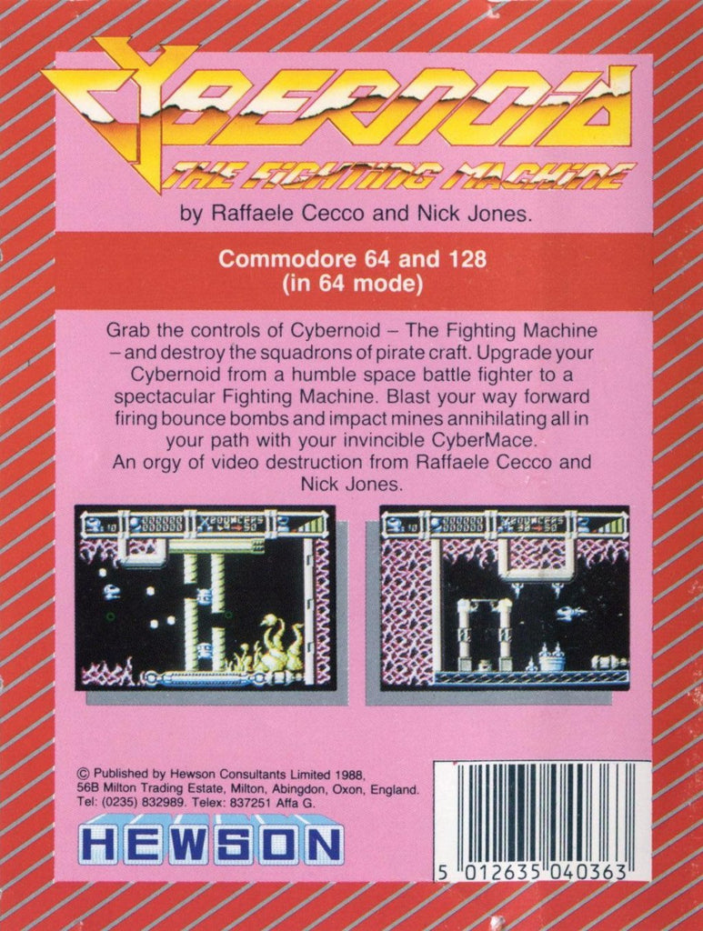 Cybernoid: The Fighting Machine - Commodore 64 | Retro1UP Game