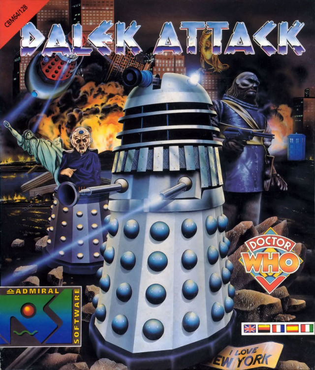 Dalek Attack - Commodore 64 | Retro1UP Game