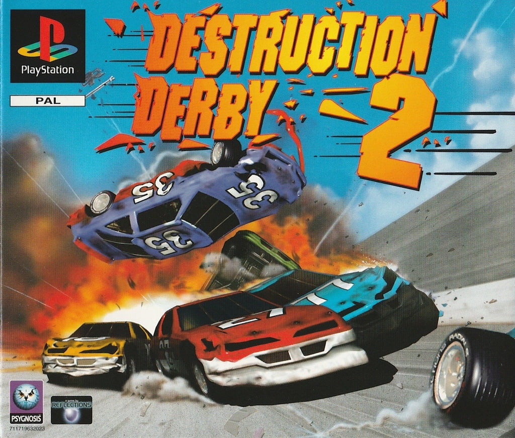 Destruction Derby 2 - PlayStation | Retro1UP Game