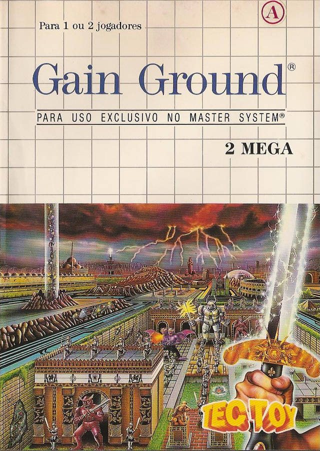 Gain Ground - Sega Master System | Retro1UP Game
