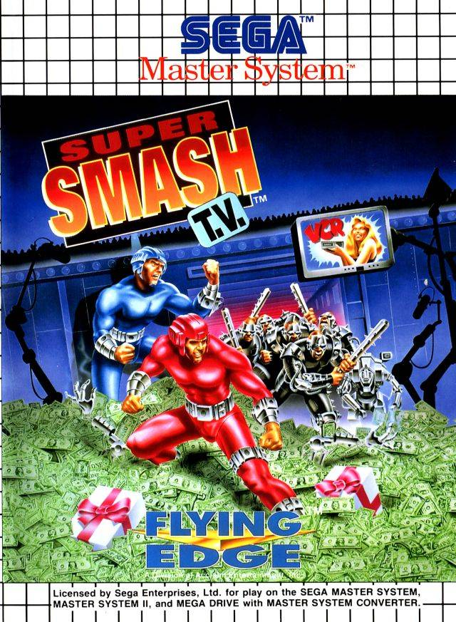 Super Smash T.V. - Sega Master System | Retro1UP Game