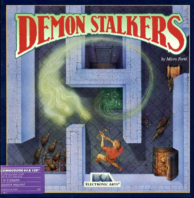 Demon Stalkers - Commodore 64 | Retro1UP Game