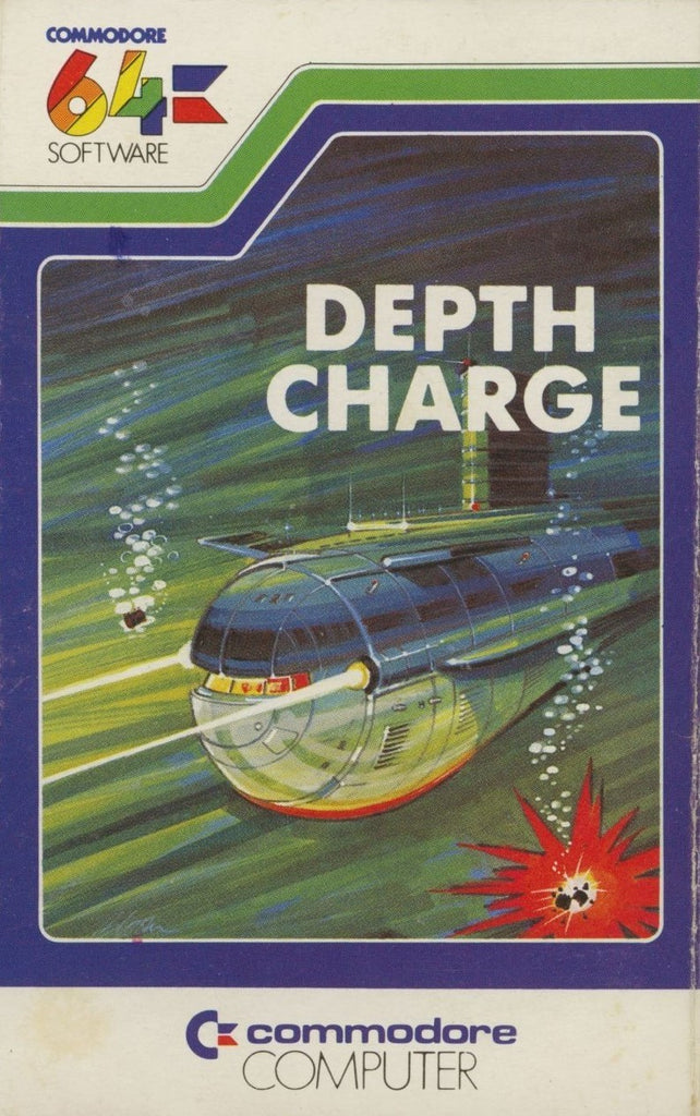Depth Charge - Commodore 64 | Retro1UP Game