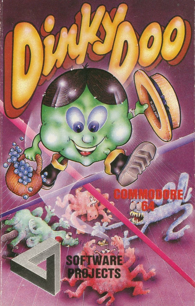 Dinky Doo - Commodore 64 | Retro1UP Game