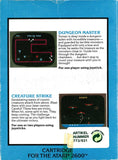 2 Pak Special: Dungeon Master / Creature Strike - Atari 2600 | Retro1UP Game
