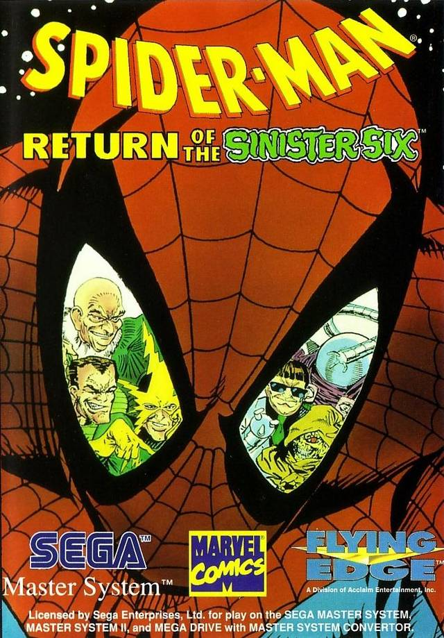 Spider-Man: Return of the Sinister Six - Sega Master System | Retro1UP Game