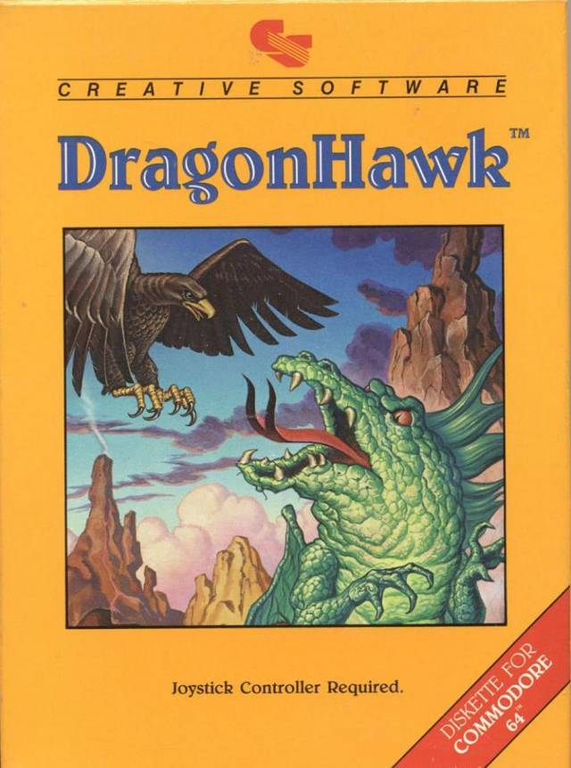 DragonHawk - Commodore 64 | Retro1UP Game