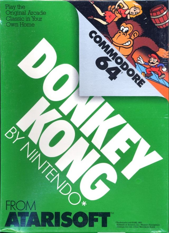 Donkey Kong - Commodore 64 | Retro1UP Game