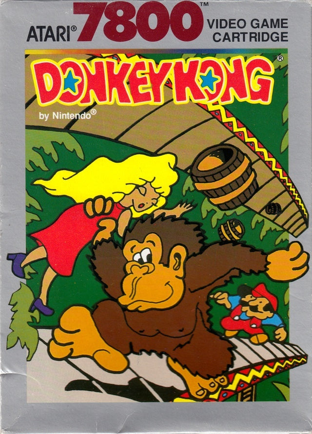 Donkey Kong - Atari 7800 | Retro1UP Game