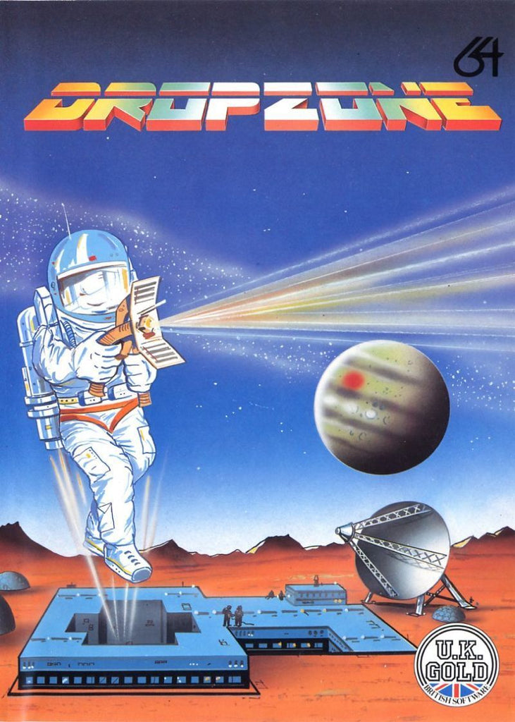 Dropzone - Commodore 64 | Retro1UP Game