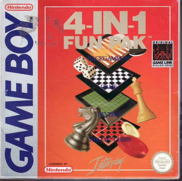 4-in-1 Fun Pak - Game Boy | Retro1UP Game