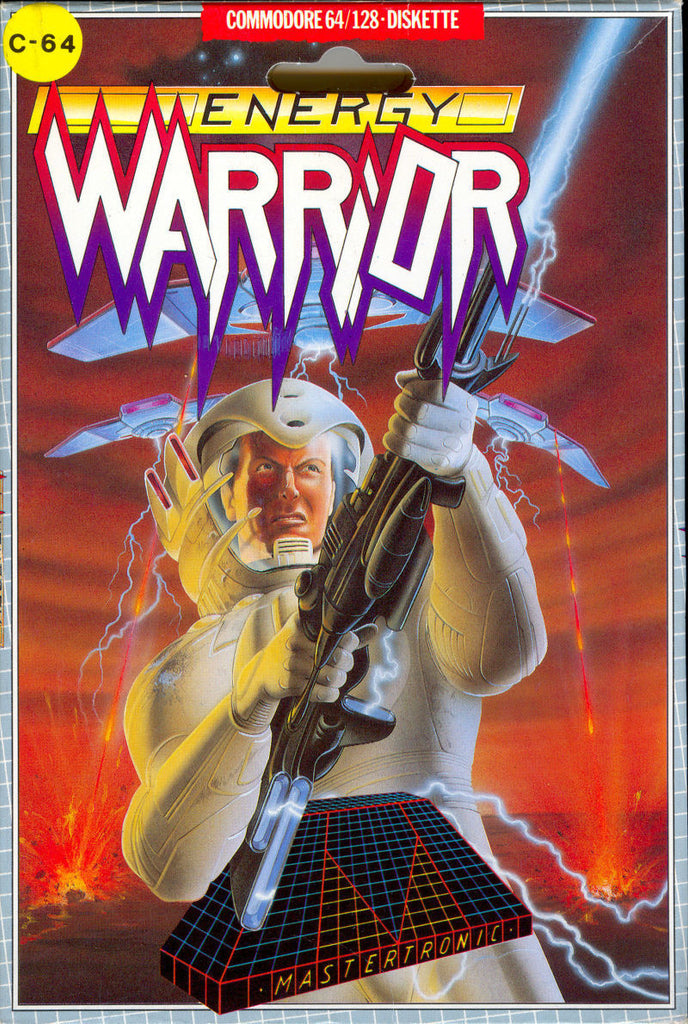 Energy Warrior - Commodore 64 | Retro1UP Game