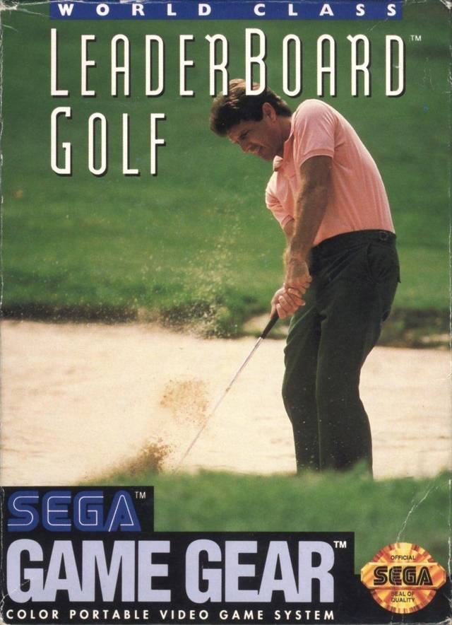 World Class Leaderboard Golf - GameGear | Retro1UP Game