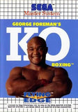 George Foreman's KO Boxing - Sega Master System | Retro1UP Game