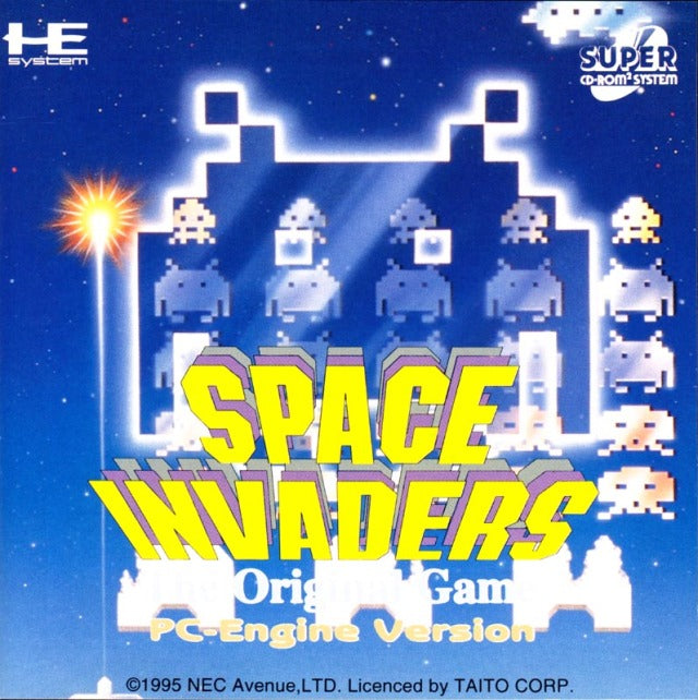 Space Invaders: The Original Game - Turbo CD | Retro1UP Game