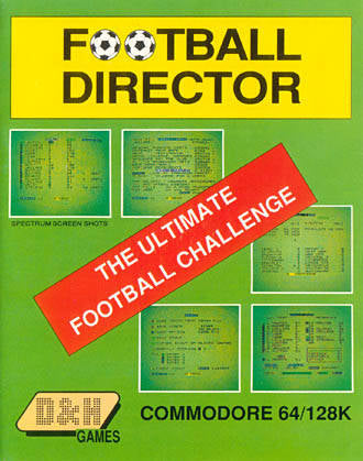 Football Director - Commodore 64 | Retro1UP Game