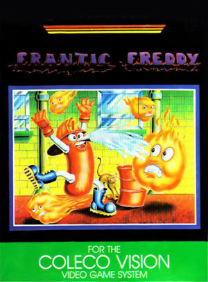 Frantic Freddie - Colecovision | Retro1UP Game