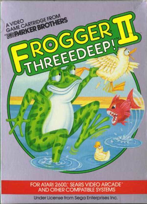 Frogger II: Threeedeep! - Atari 2600 | Retro1UP Game