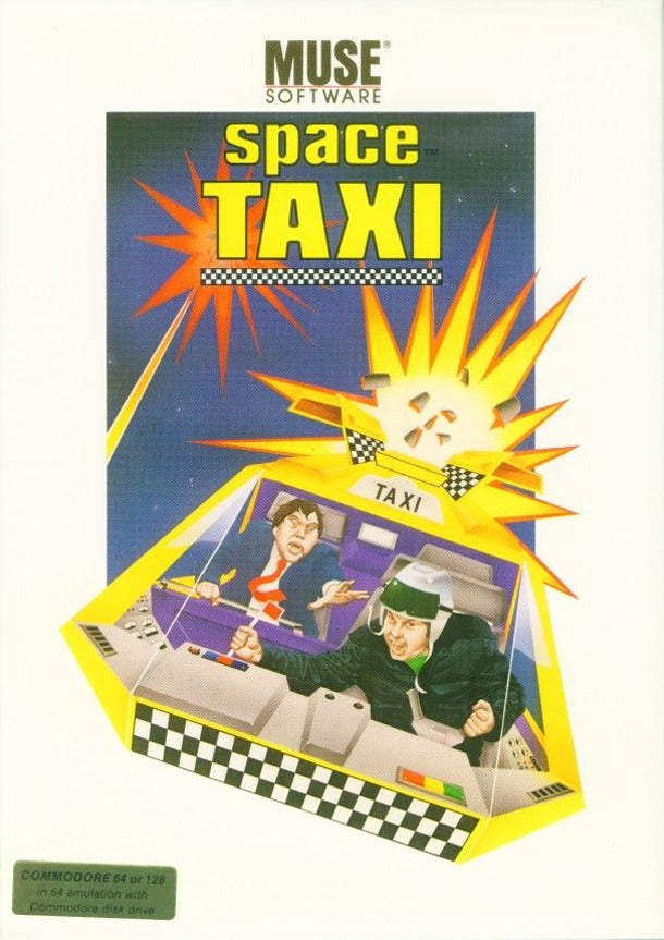 Space Taxi - Commodore 64 | Retro1UP Game