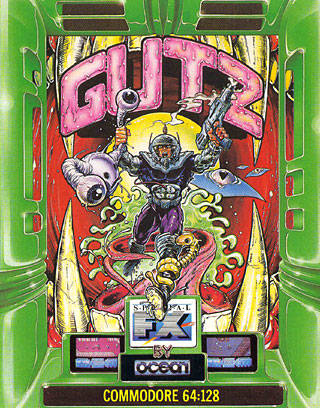 G.U.T.Z. - Commodore 64 | Retro1UP Game