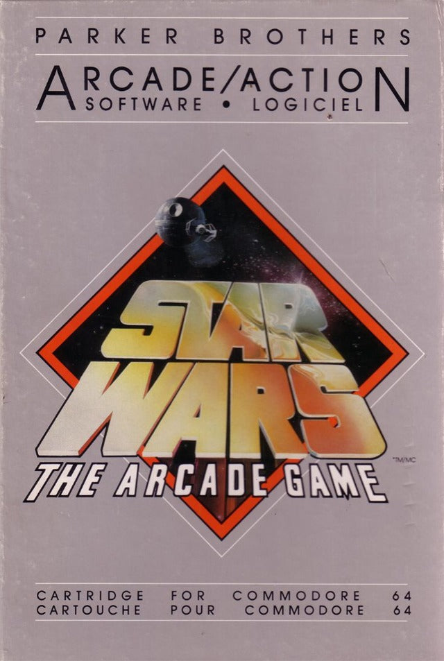 Star Wars: The Arcade Game - Commodore 64 | Retro1UP Game