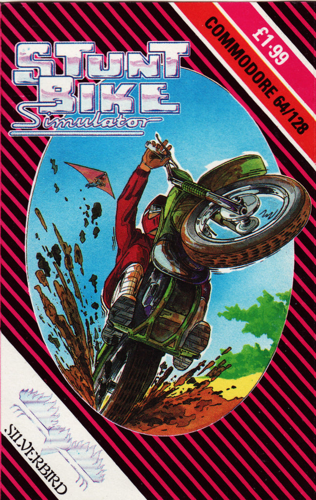 Stunt Bike Simulator - Commodore 64 | Retro1UP Game