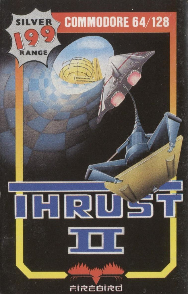 Thrust II - Commodore 64 | Retro1UP Game