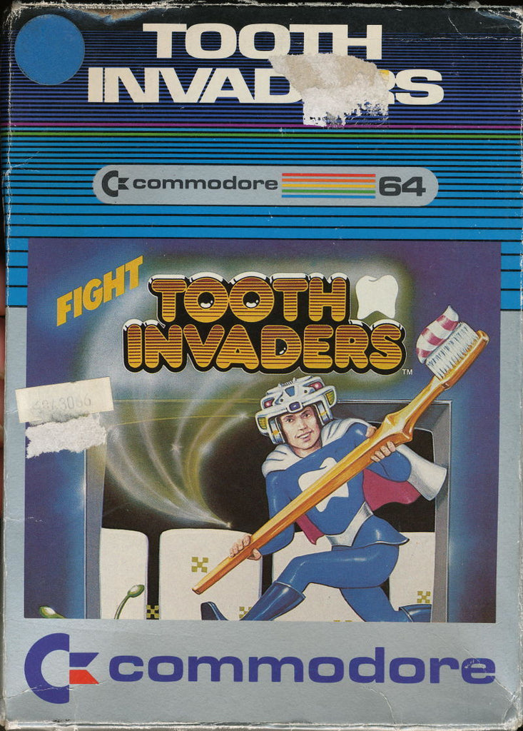 Tooth Invaders - Commodore 64 | Retro1UP Game