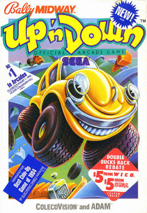 Up 'n Down - Colecovision | Retro1UP Game