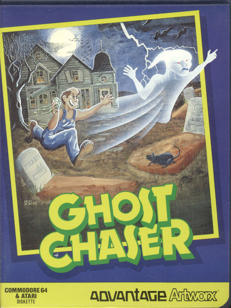 Ghost Chaser - Commodore 64 | Retro1UP Game