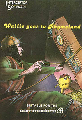 Wallie goes to Rhymeland - Commodore 64 | Retro1UP Game