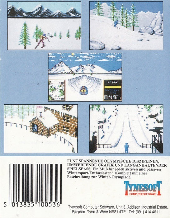 Winter Challenge: World Class Competition - Commodore 64 | Retro1UP Game
