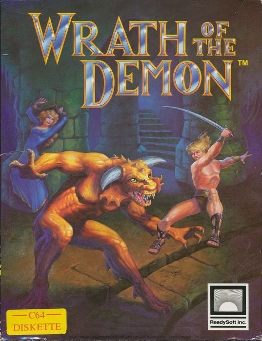 Wrath of the Demon - Commodore 64 | Retro1UP Game