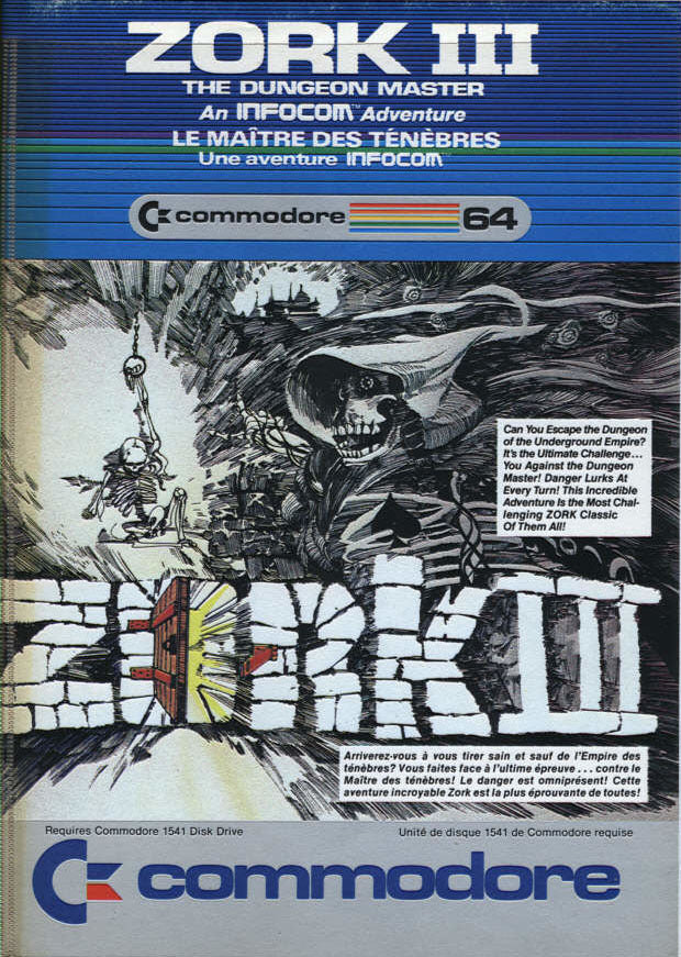 Zork III: The Dungeon Master - Commodore 64 | Retro1UP Game