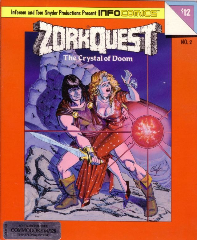 Zork Quest: The Crystal of Doom - Commodore 64 | Retro1UP Game