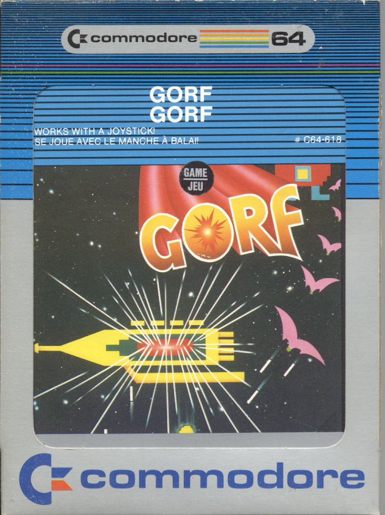 Gorf - Commodore 64 | Retro1UP Game