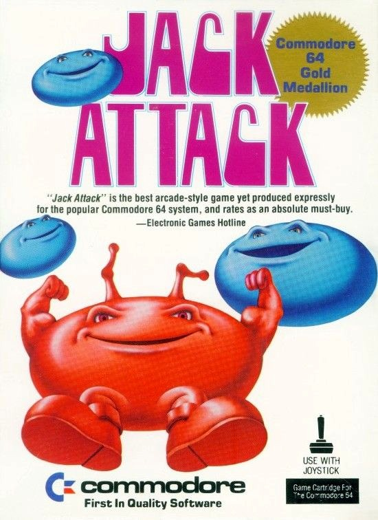 Jack Attack - Commodore 64 | Retro1UP Game