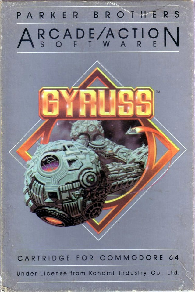 Gyruss - Commodore 64 | Retro1UP Game