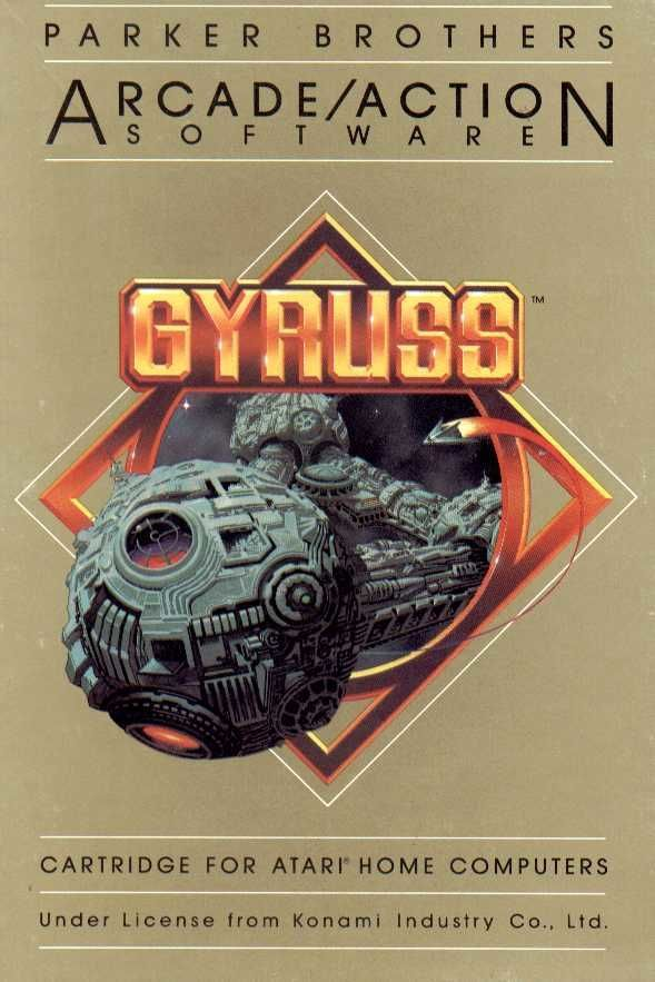 Gyruss - Atari 8-bit | Retro1UP Game
