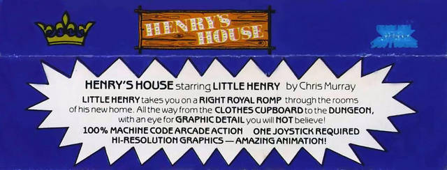 Henry's House - Commodore 64 | Retro1UP Game