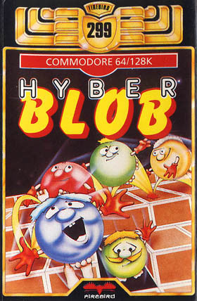 Hyber Blob - Commodore 64 | Retro1UP Game