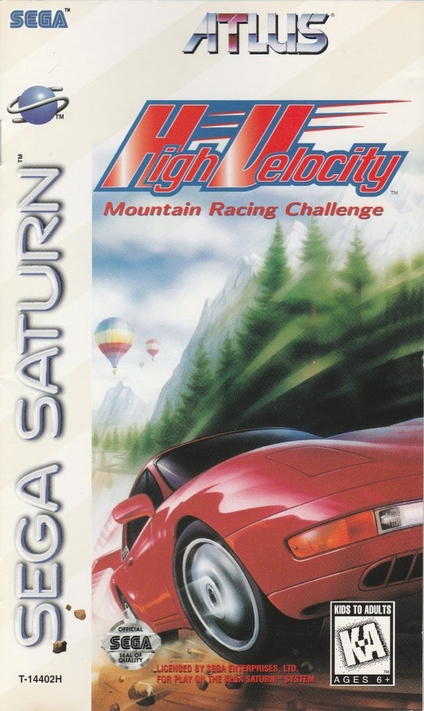 High Velocity: Mountain Racing Challenge - Saturn | Retro1UP Game