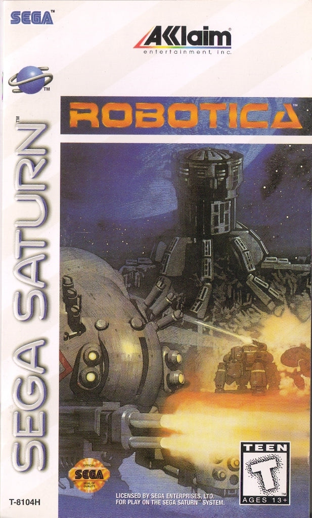 Robotica - Saturn | Retro1UP Game