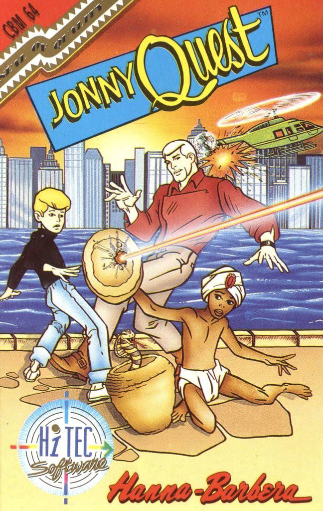Jonny Quest in Doctor Zim's Underworld - Commodore 64 | Retro1UP Game