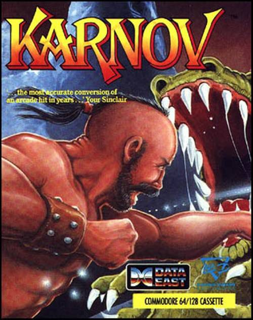 Karnov - Commodore 64 | Retro1UP Game